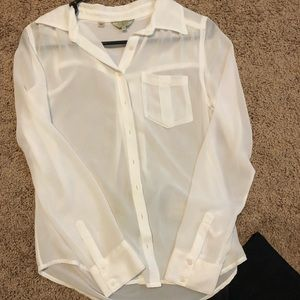 Guess Button Up Top